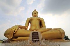 Big Buddha, Angthong Stock Image