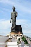 Big Buddha with blue sky Stock Image