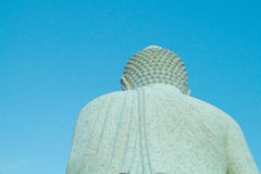 Big buddha and blue sky Stock Photography