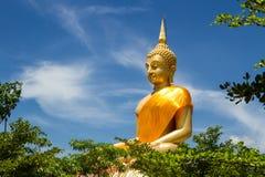 Big buddha with bluesky Stock Photo