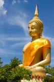 Big buddha with bluesky Royalty Free Stock Photo