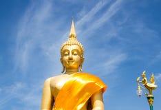 Big buddha with bluesky Stock Image