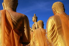 Big Buddha in Buddhism Memorial Park Public Templel Royalty Free Stock Photography