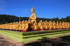 Big Buddha in Buddhism Memorial Park Public Templel Royalty Free Stock Image