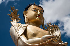 Big Buddha Closeup Royalty Free Stock Photography
