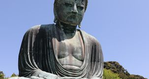 Big Buddha Daibutsu stock video
