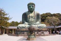 The big Buddha, Daibutsu, in Kamakura, Japan Stock Image