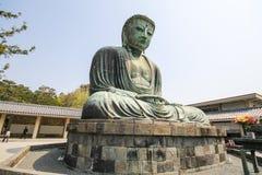The big Buddha, Daibutsu, in Kamakura, Japan Stock Images