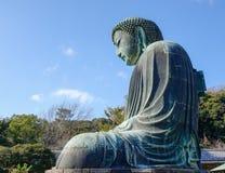 Big Buddha (Daibutsu) in Kamakura, Japan Stock Images