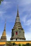 Big buddha in the grand palace Stock Image
