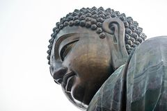 Big Buddha. The great Big Buddha in Hongkong Royalty Free Stock Photos