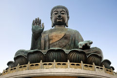 Big buddha - Hongkong Stock Photo