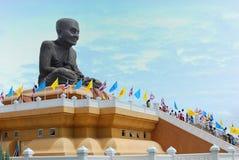 Big Buddha image. \Lung Pu Tuad\ Big Buddha image in Huay Mongkol temple that sited in Hua-Hin, Thailand Royalty Free Stock Photos