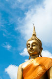 Big Buddha image Stock Photography