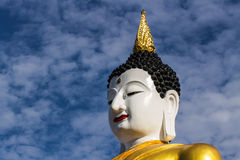 Big buddha image at golden triangle Stock Images