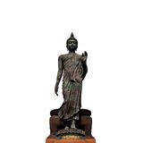 Big Buddha image isolate Royalty Free Stock Image