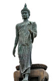 Big Buddha image isolate on white background Royalty Free Stock Photos