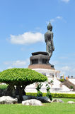 Big buddha image at Phutthamonthon Royalty Free Stock Photo