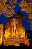 Big buddha image under twilight Stock Images
