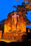 Big buddha image at Wat Phra Si Ariyabot Royalty Free Stock Photo