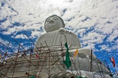 Big Buddha on the island of Phuket in Thailand Stock Photo