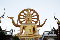 Big Buddha - Koh Samui - thailand Royalty Free Stock Photography
