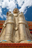 Big Buddha in Ladakh Royalty Free Stock Images