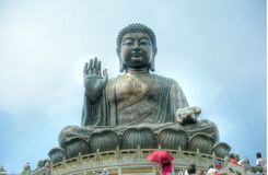 Big Buddha at Lanta Island Stock Photography