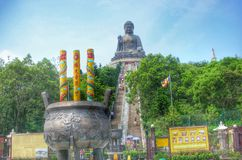 Big Buddha at Lanta Island Stock Images