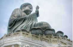 Big Buddha at Lanta Island Royalty Free Stock Photography