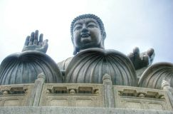 Big Buddha at Lanta Island Stock Image