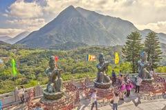 Big Buddha Lantau Stock Images