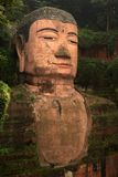 The Big Buddha of Leshan, Sichuan in China Stock Photography