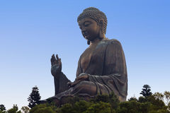 Big Buddha meditation Stock Photo