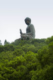 Big Buddha monument. China, Hong Kong Stock Photography