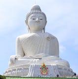 Big Buddha monument on the island of Phuket i Stock Image