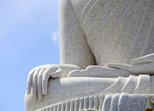 Big Buddha monument on the island of Phuket i Royalty Free Stock Photo
