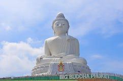 Big Buddha monument on the island of Phuket Royalty Free Stock Images