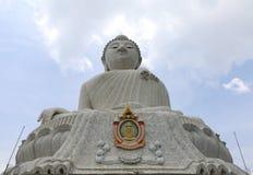 Big Buddha monument on the island of Phuket Stock Image