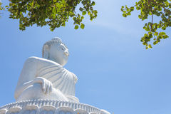 Big Buddha monument on the island of Phuket in Thailand Royalty Free Stock Image