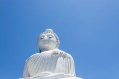Big Buddha monument on the island of Phuket in Thailand Royalty Free Stock Photos