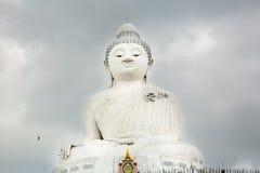 Big Buddha monument on island of Phuket in Thailand. Royalty Free Stock Image