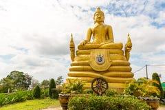 Big Buddha monument on island of Phuket in Thailand. Stock Photography