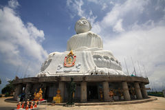 Big Buddha monument landmark in Phuket Stock Image