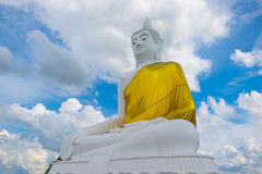 Big Buddha on the Mountain at Udonthani in Thailand, Big buddha. Stone buddhist temple in Thailand stock photo