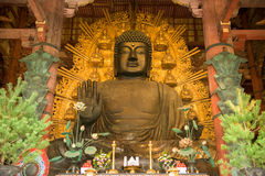 Big Buddha of Nara, Japan Stock Photo