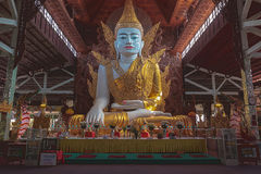 Big Buddha in Nga Htat Gyi Stock Photo