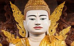 Big Buddha in Ngahtatkyi Pagoda Temple in Yangon Stock Photography