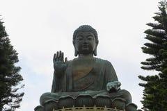 Big Buddha at Ngong Ping, Hong kong Royalty Free Stock Photos