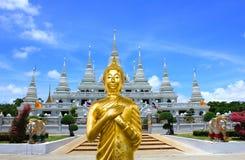 Big Buddha on pagoda Stock Image